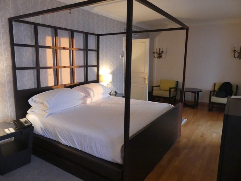 Dormitor apartament prezidential