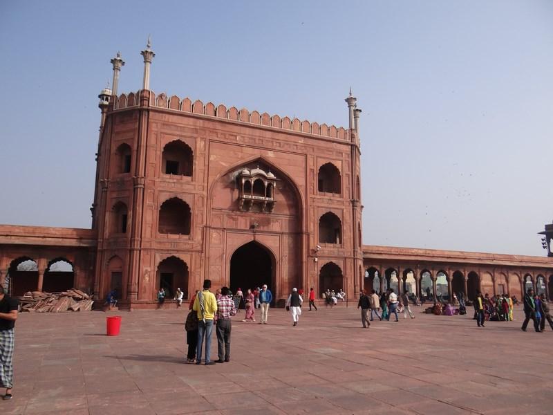 Moschee Delhi