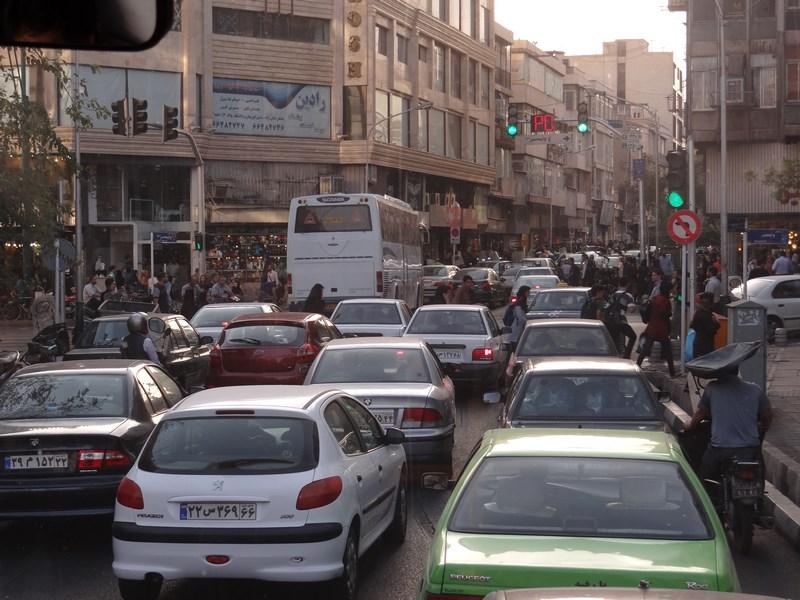 Trafic Teheran