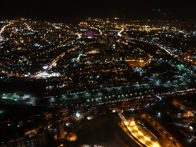 Teheran by night