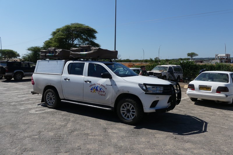 Masina x safari