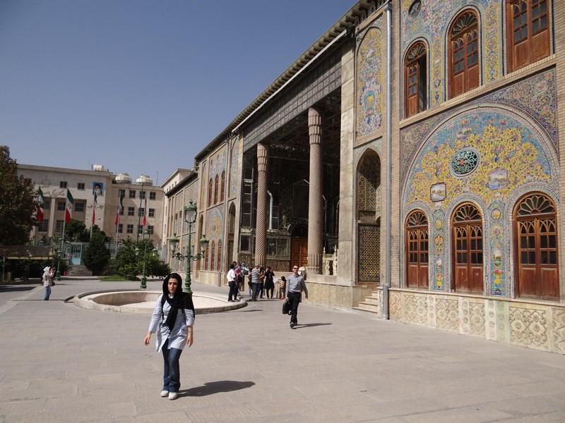 Palat Qajar Teheran