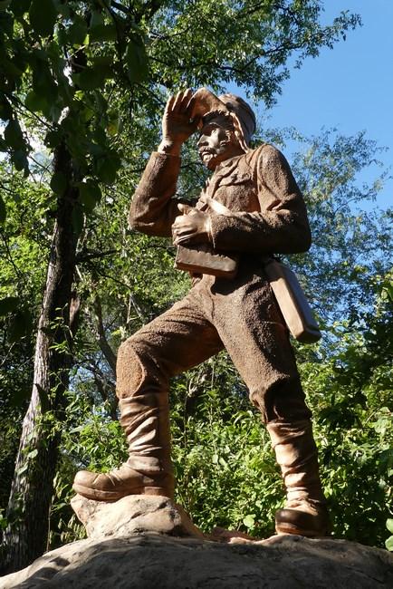 Statuie Livingstone
