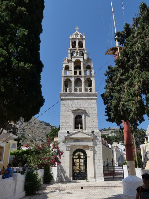 Symi church