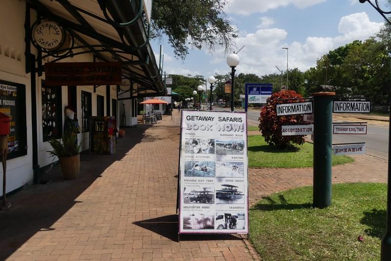 Victoria Falls Town Zimbabwe