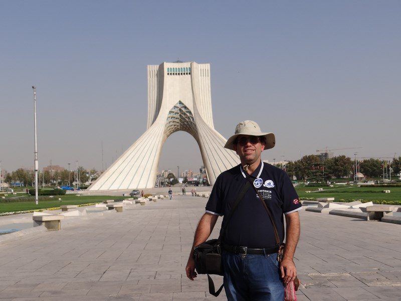 Azadi Tower Teheran Iran