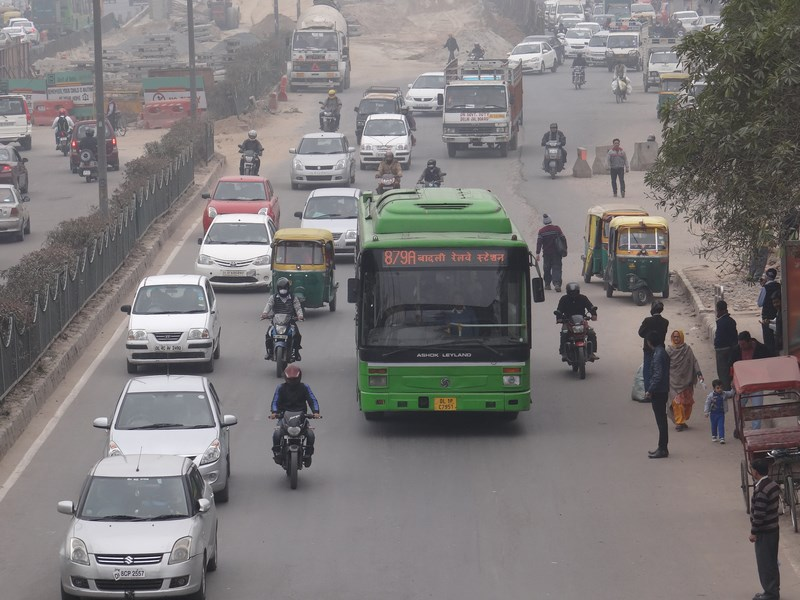 Trafic Delhi