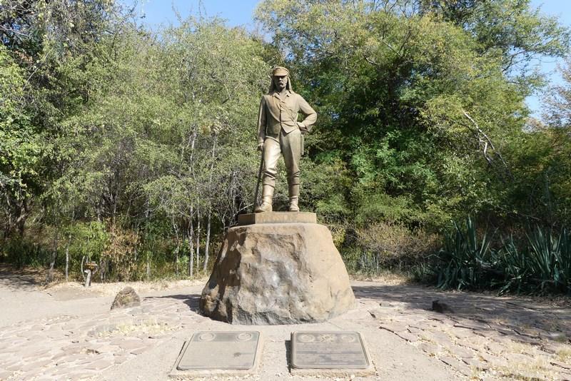 Statuie Livingstone Zimbabwe