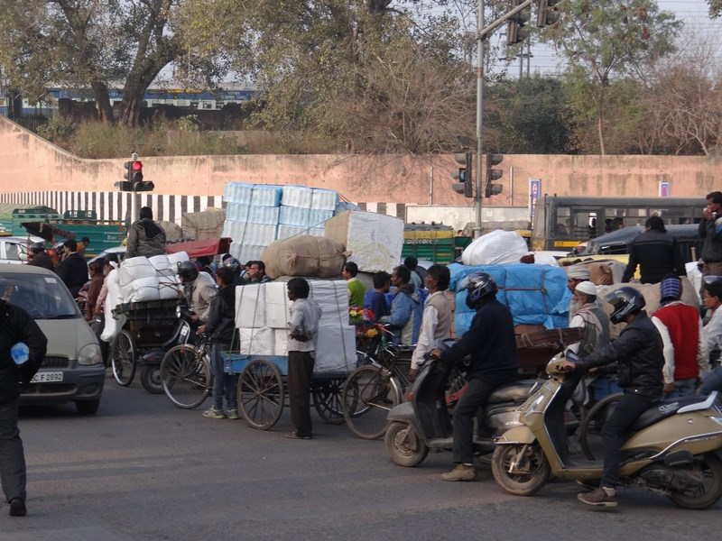 Trafic Jam Delhi