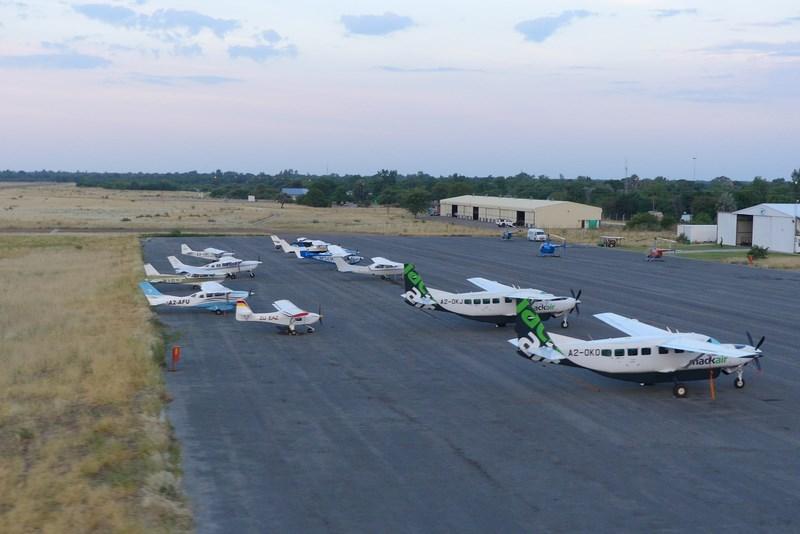 Aeroport Maun Botswana