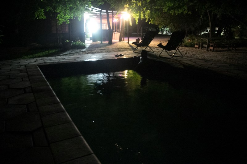 . Maun Rest Camp pool