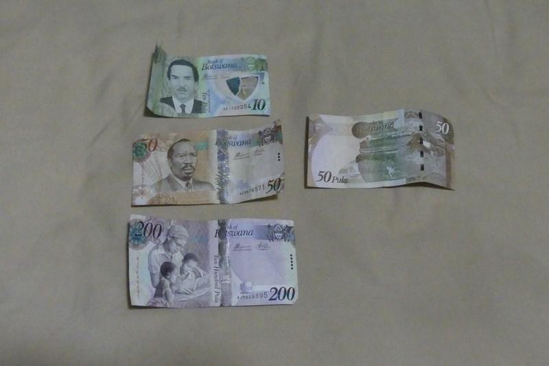 Bancnote Botswana pula