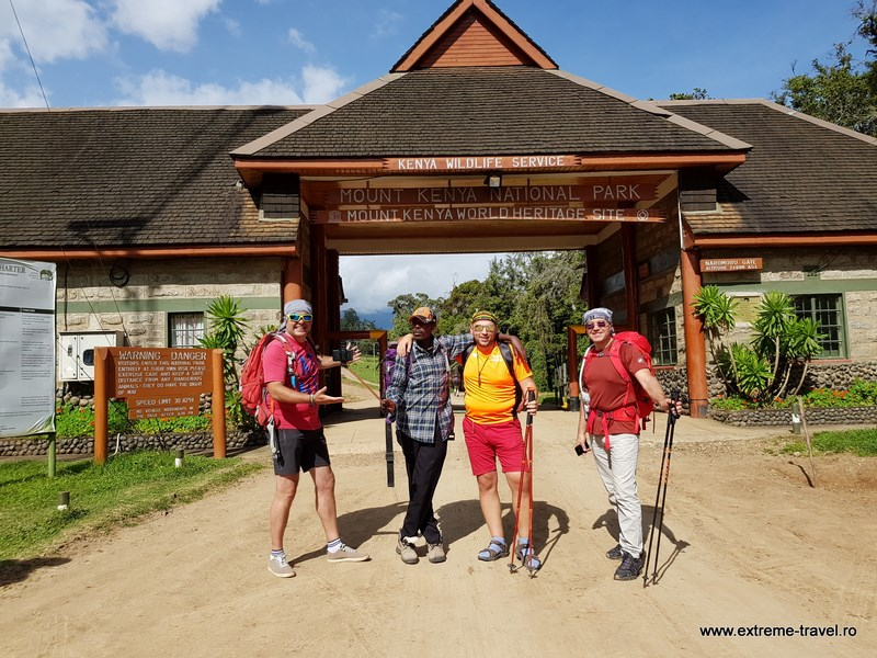 Intrare Mt. Kenya