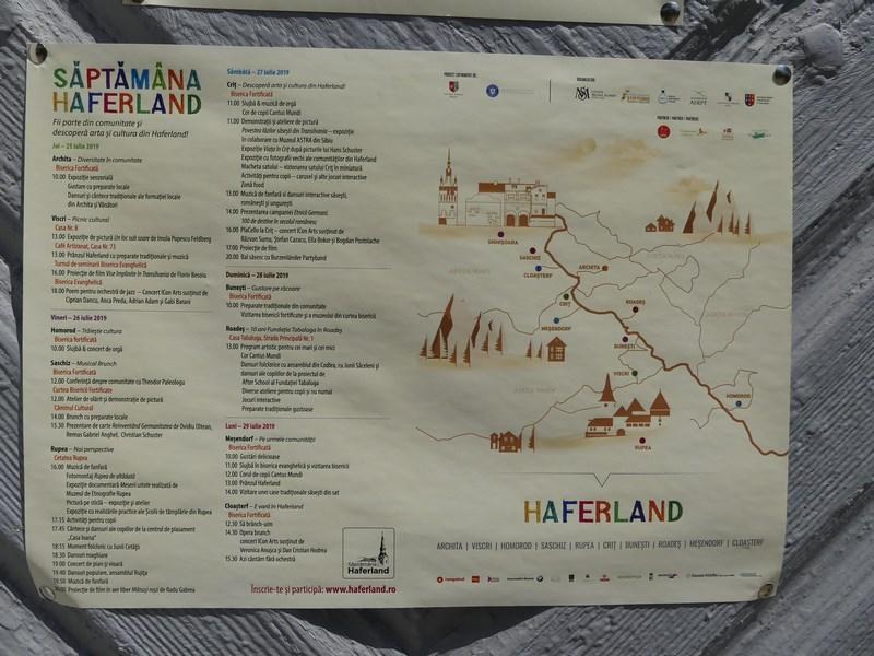 Program Saptamana Haferland