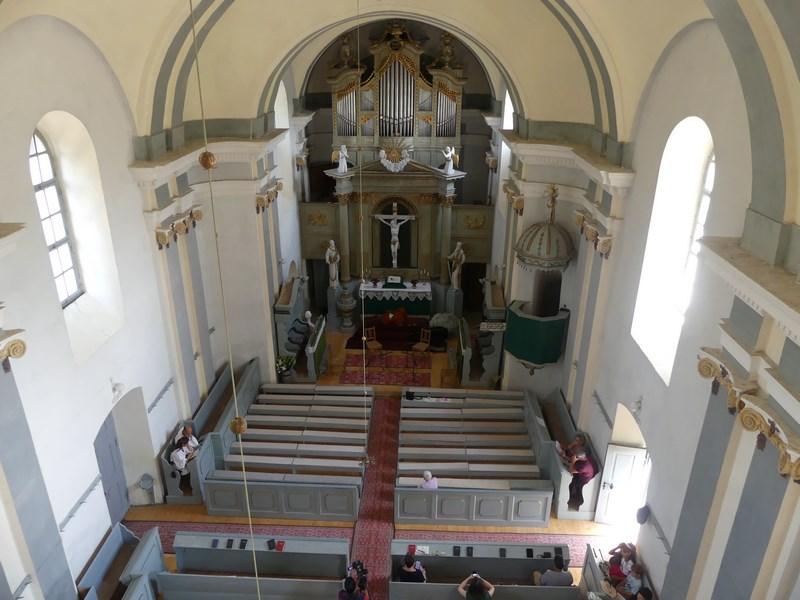 Panorama biserica Crit