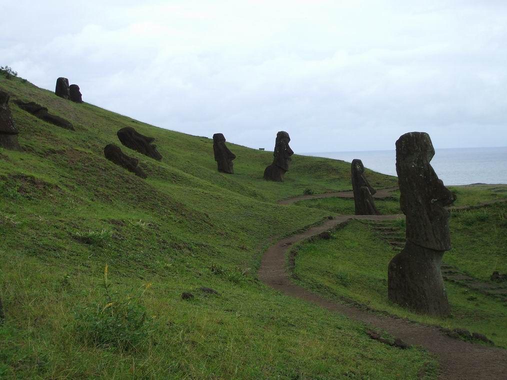 Ranu Raraku Insula Pastelui