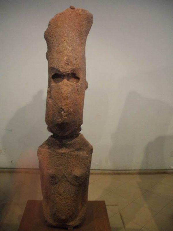 Muzeu Moai femeie