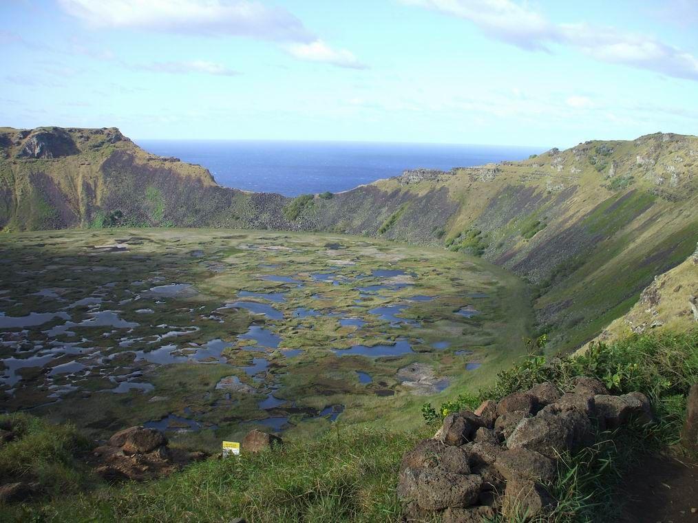 Lac vulcanic Insula Pastelui