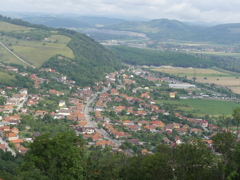 Panorama cetate Deva