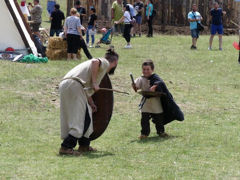 Lectii de lupta cu spada