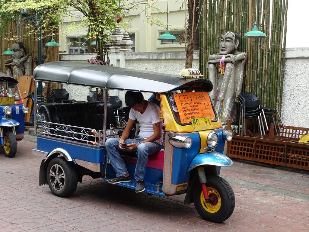 Tuk Tuk in Khao San, Bangkok