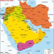 Orientul Apropiat harta