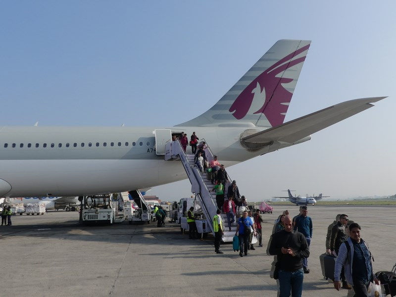Qatar Airways Kathmandu