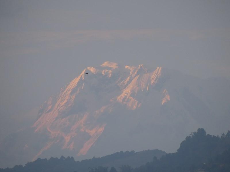 Apus de soare Annapurna
