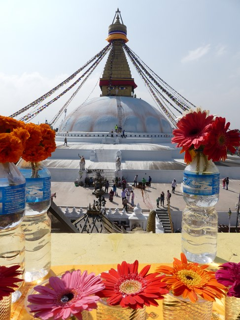 Stupa Bouddha
