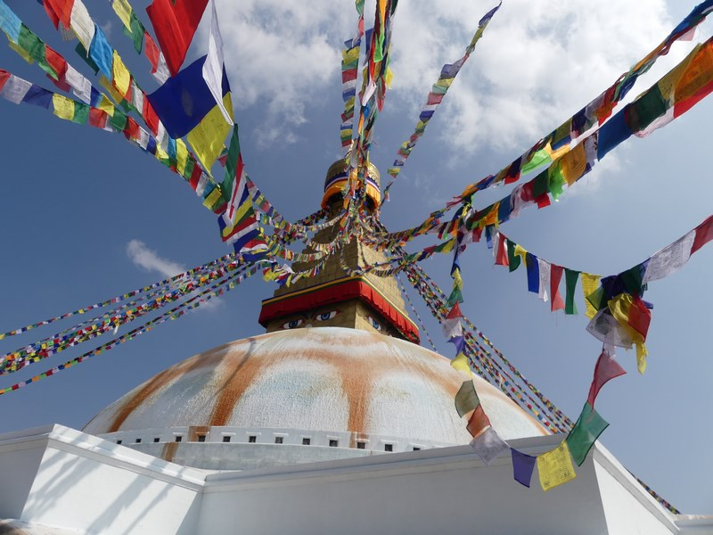 Steaguri de rugaciune budiste