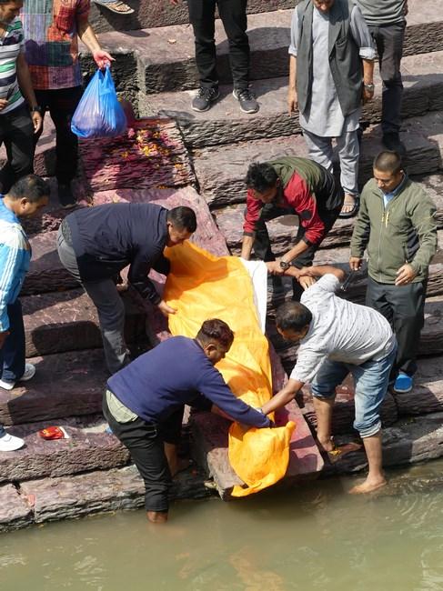 Incinerare Nepal