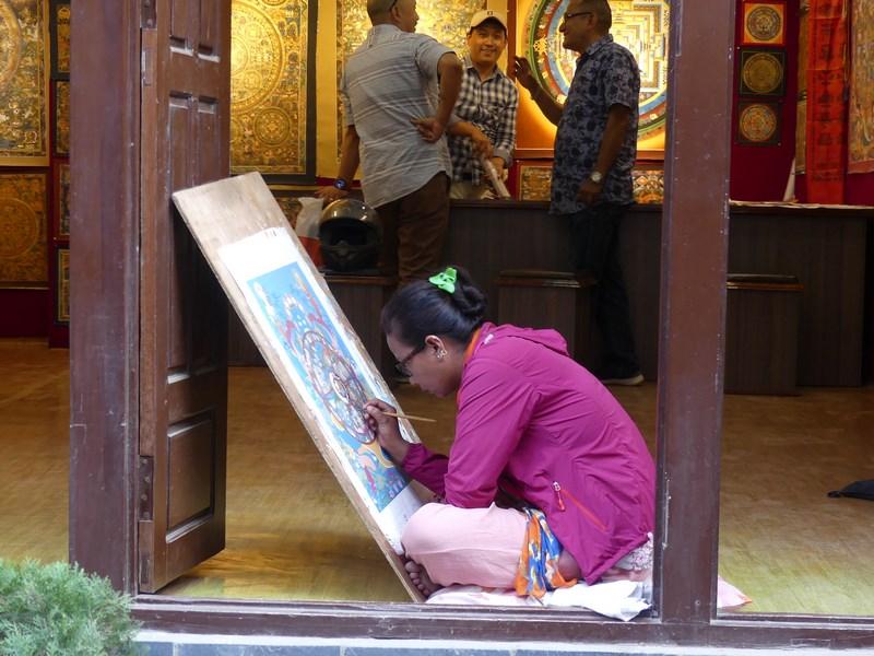 Pictorita Patan Nepal