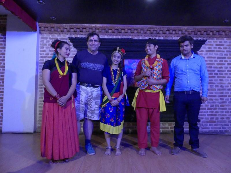 Dansatori Nepal