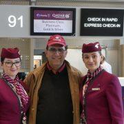 Stewardeze Qatar Airways