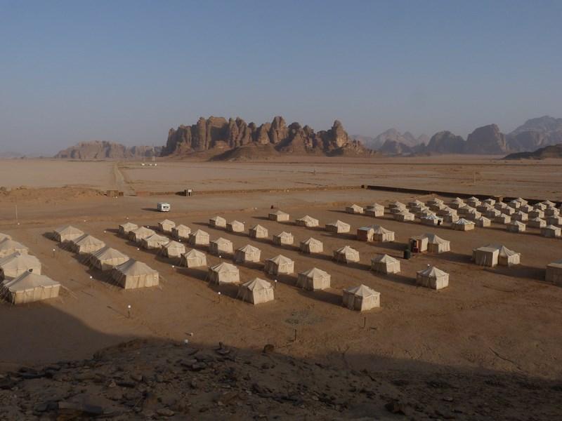Corturi Wadi Rum