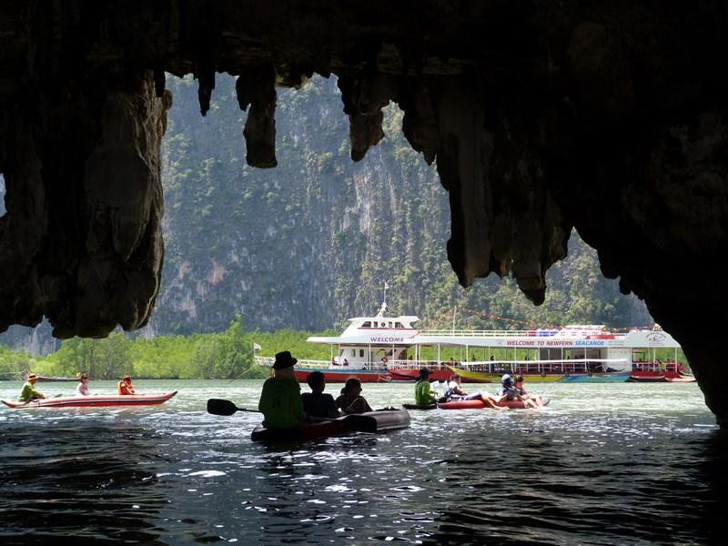 Canoe Koh Phang Nga