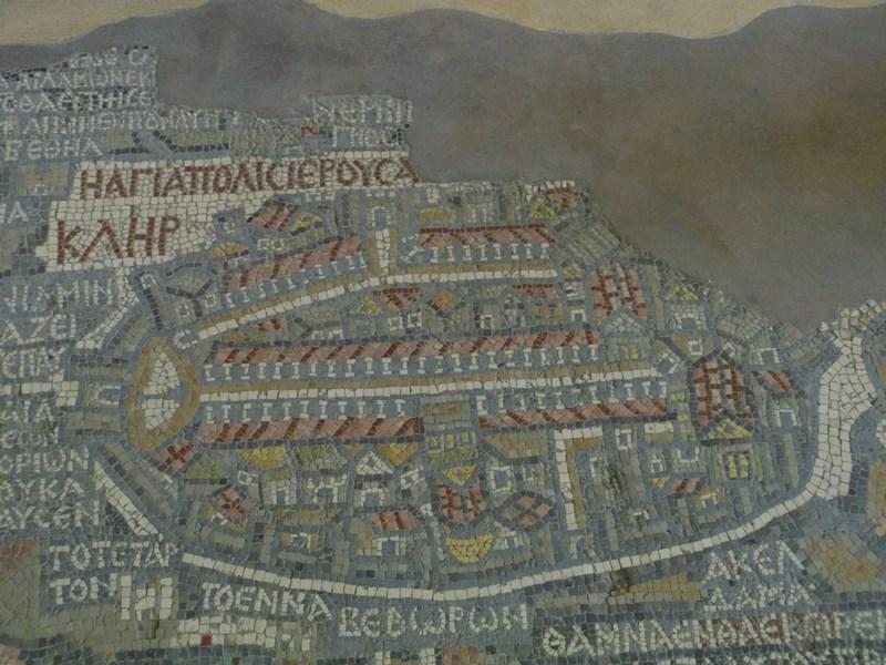 Harta mozaic