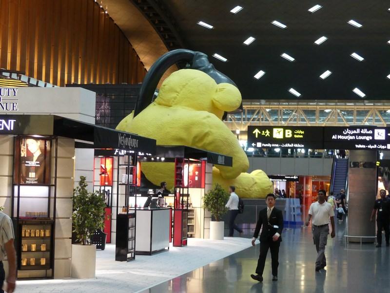 Ursul din aeroport