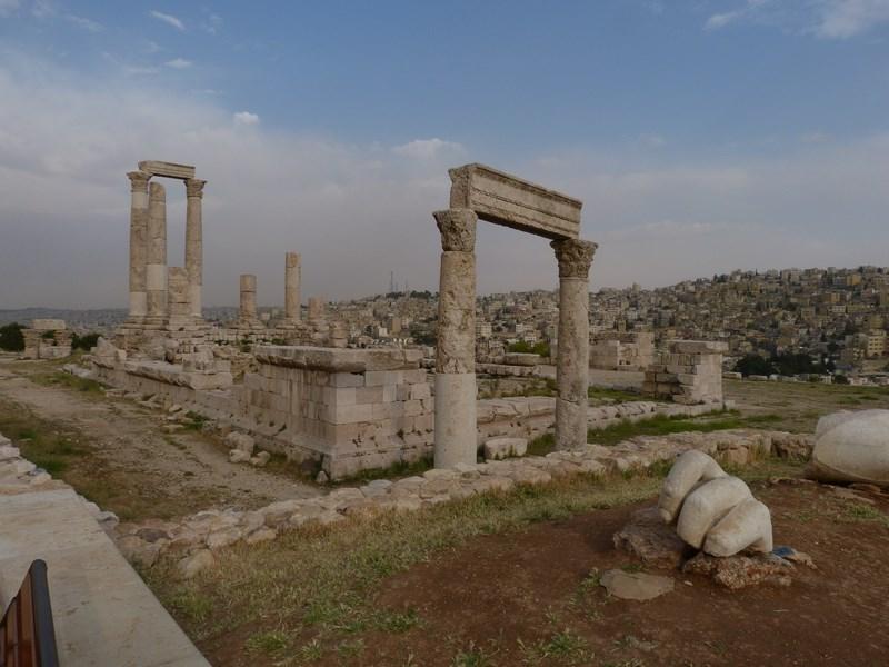 Amman ruine