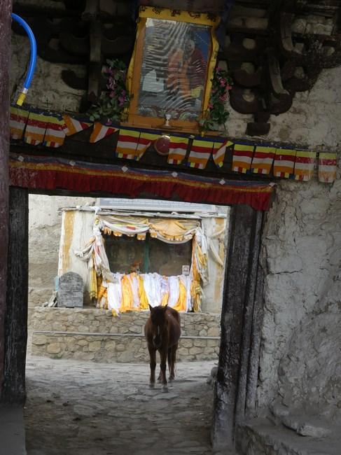 Walled city Lo Manthang