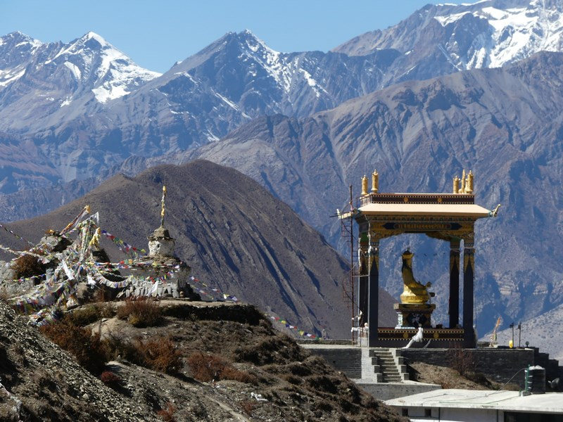 Pavilion Buddha Muktinath