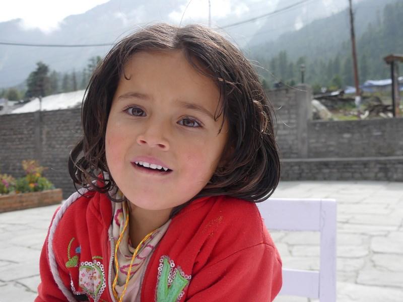 Fetita nepaleza