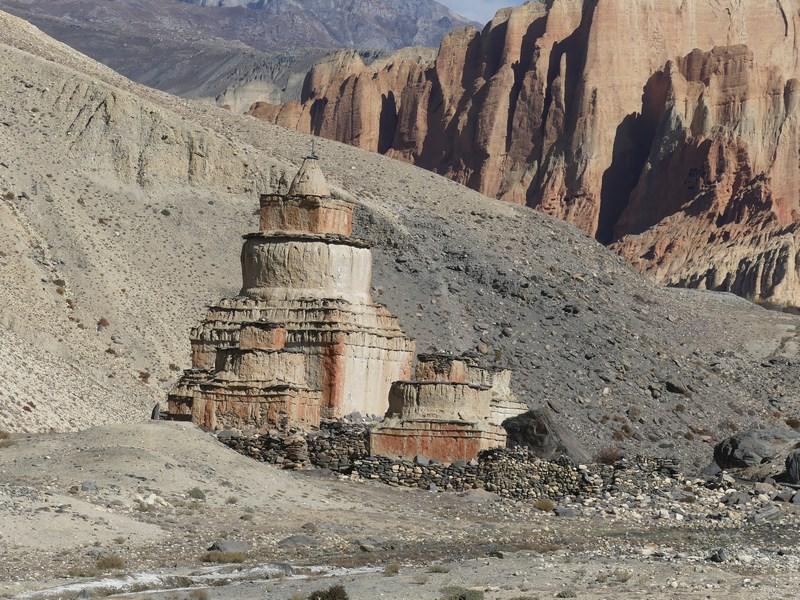 Stupa in Mustang