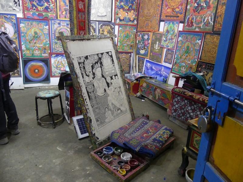 Atelier Thangka Lo Manthang