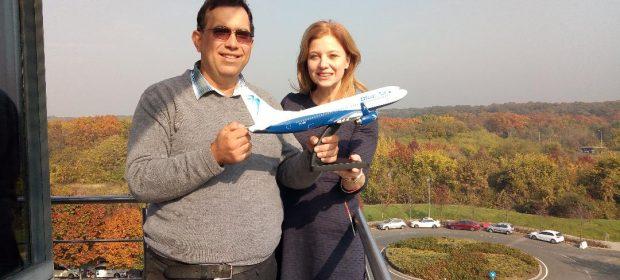 Oana Petrescu Blue Air