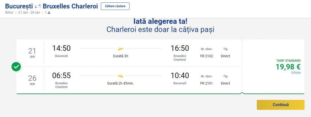 Ryanair Bruxelles