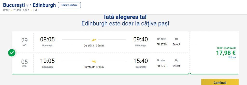 Ryanair Edinburgh