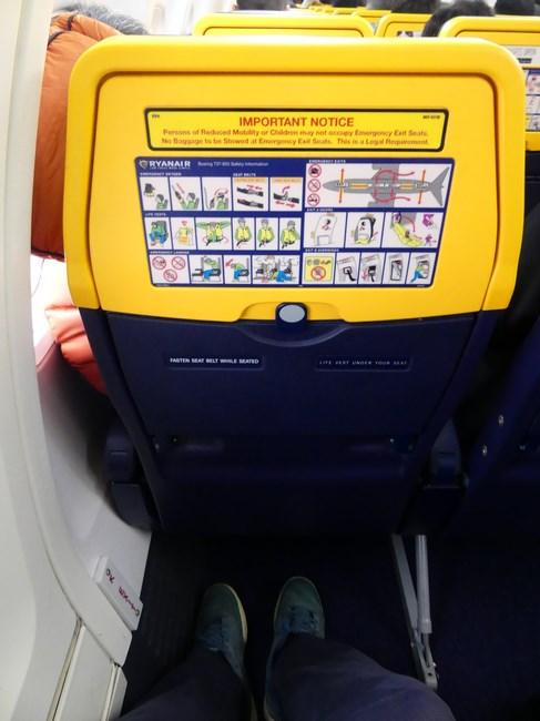 Ryanair extra leg