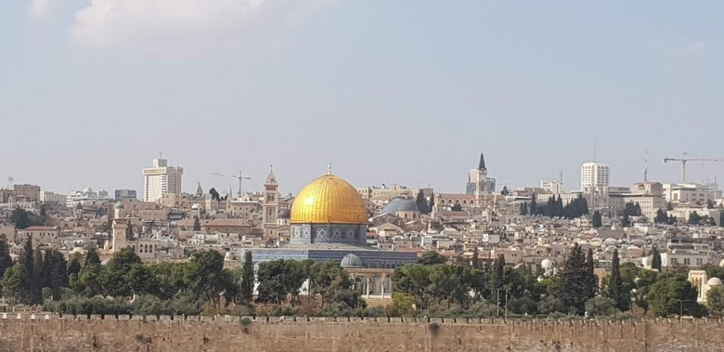 Panorama Ierusalim palestinian