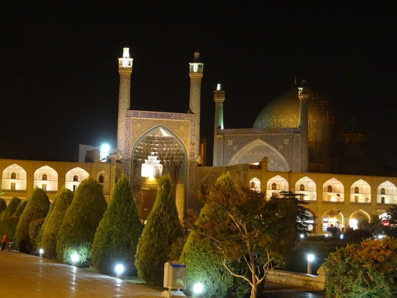 Esfahan by night